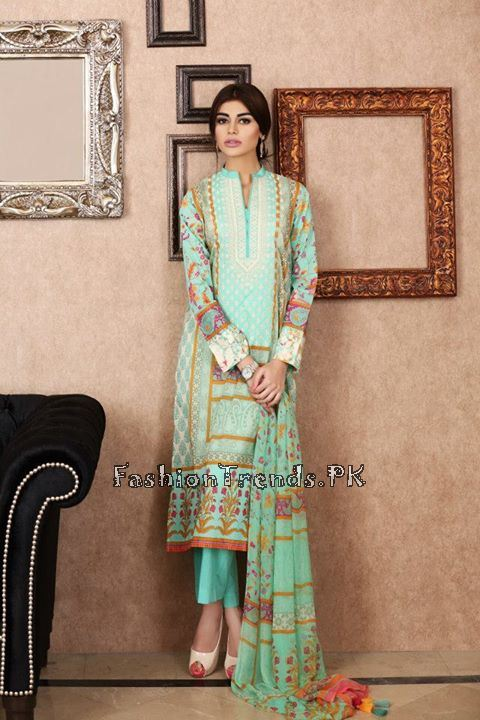 Khaadi Lawn Volume 2 Collection 2015 (62)