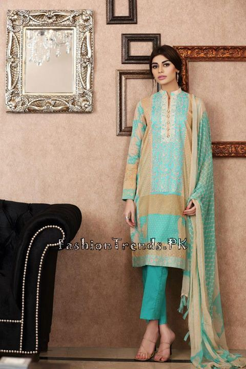 Khaadi Lawn Volume 2 Collection 2015 (63)