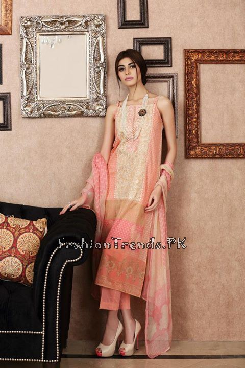 Khaadi Lawn Volume 2 Collection 2015 (64)