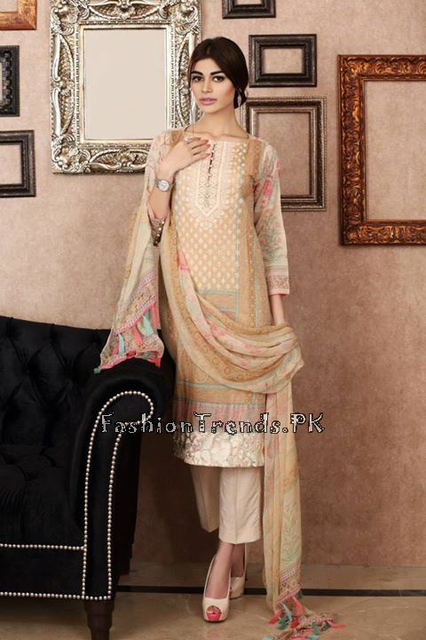 Khaadi Lawn Volume 2 Collection 2015 (65)