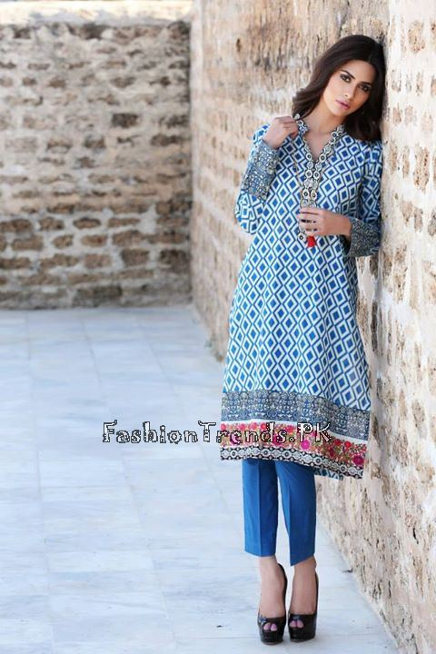 Khaadi Lawn Volume 2 Collection 2015 (67)