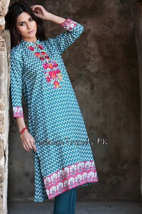 Khaadi Lawn Volume 2 Collection 2015 (70)