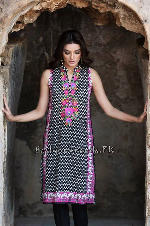 Khaadi Lawn Volume 2 Collection 2015 (71)