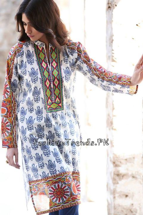 Khaadi Lawn Volume 2 Collection 2015 (73)