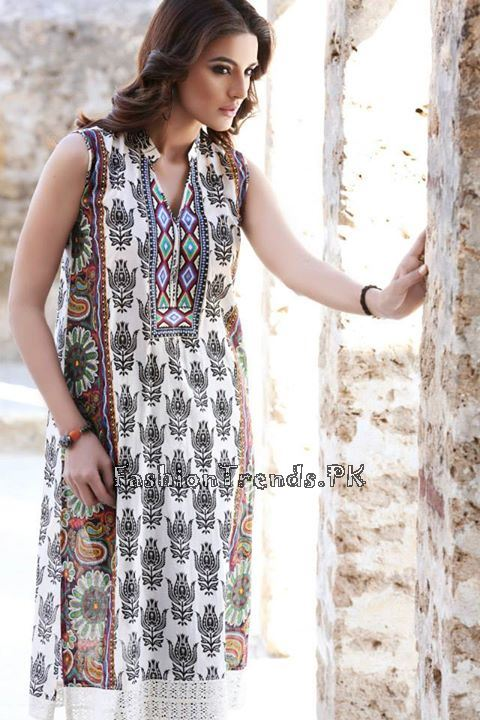 Khaadi Lawn Volume 2 Collection 2015 (74)