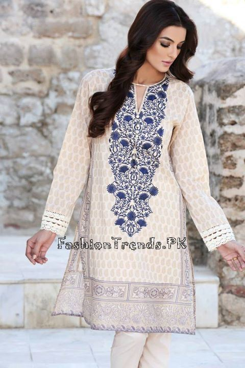 Khaadi Lawn Volume 2 Collection 2015 (75)