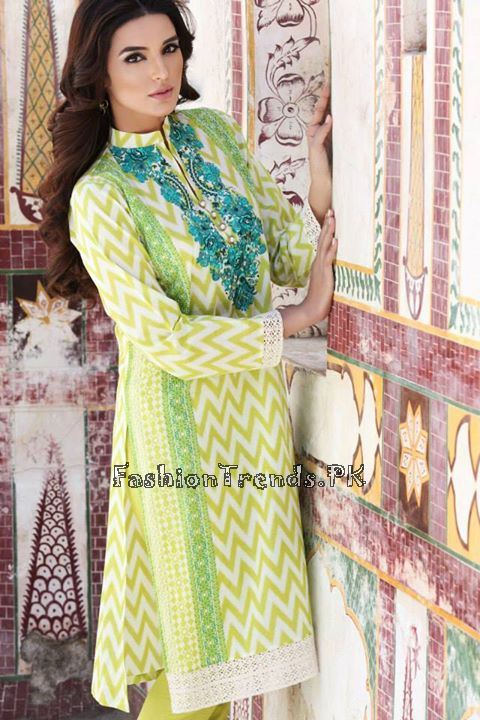 Khaadi Lawn Volume 2 Collection 2015 (76)