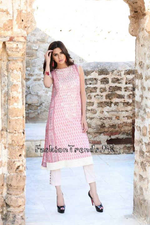Khaadi Lawn Volume 2 Collection 2015 (77)