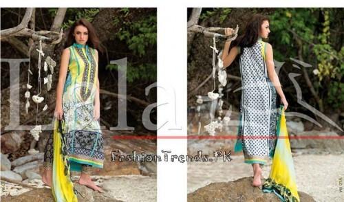 Lala Vintage Summer Lawn Dresses 2015 (2)