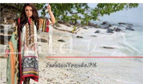Lala Vintage Summer Lawn Dresses 2015 (3)