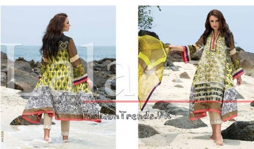 Lala Vintage Summer Lawn Dresses 2015 (10)