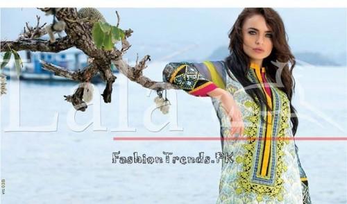 Lala Vintage Summer Lawn Dresses 2015 (12)