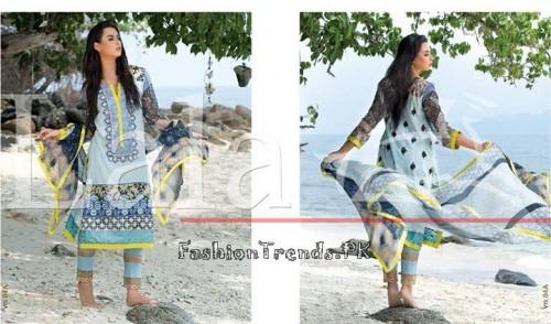 Lala Vintage Summer Lawn Dresses 2015 (15)