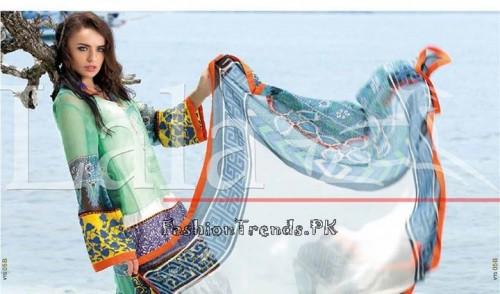 Lala Vintage Summer Lawn Dresses 2015 (20)