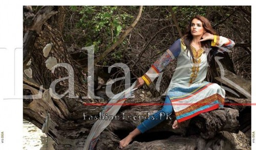 Lala Vintage Summer Lawn Dresses 2015 (23)