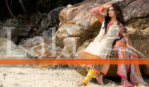 Lala Vintage Summer Lawn Dresses 2015 (26)