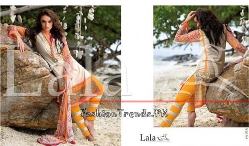 Lala Vintage Summer Lawn Dresses 2015 (27)