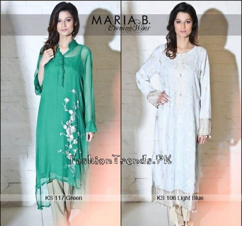 Maria B Ready To Wear Dresses Summer 2015 (2)