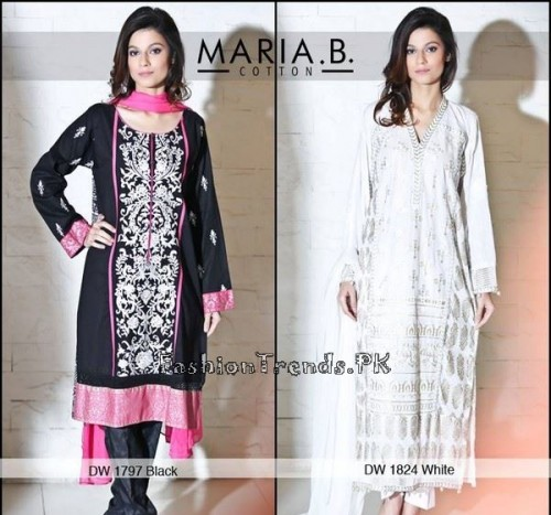 Maria B Ready To Wear Dresses Summer 2015 (8)