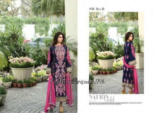 Nation By Riaz Arts Vol 1 Summer Collection 2015 (12)