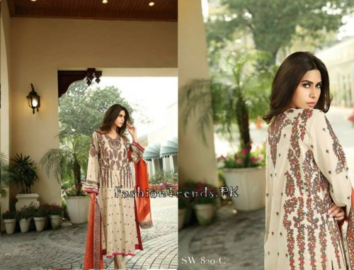 Nation By Riaz Arts Vol 1 Summer Collection 2015 (14)