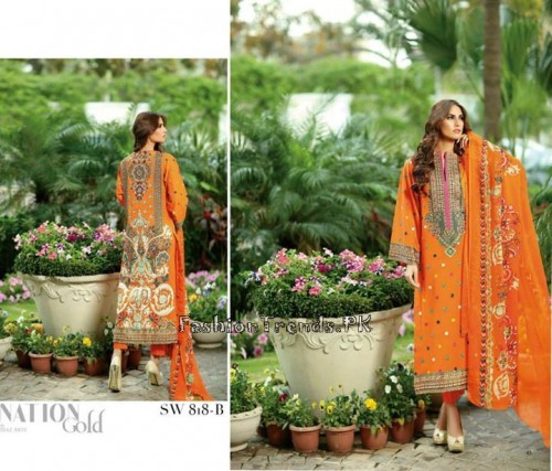 Nation By Riaz Arts Vol 1 Summer Collection 2015 (15)