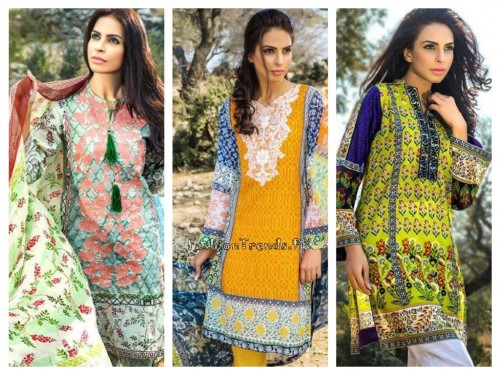 Pareesa Lawn Collection 2015 By Chen One (1)