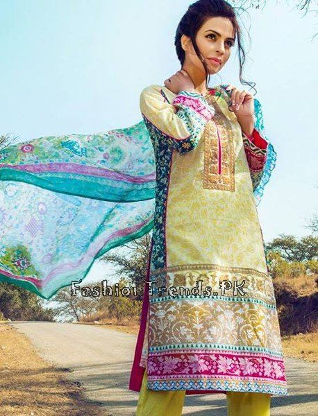 Pareesa Lawn Collection 2015 By Chen One (2)
