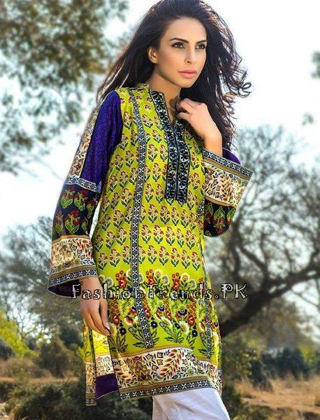 Pareesa Lawn Collection 2015 By Chen One (3)