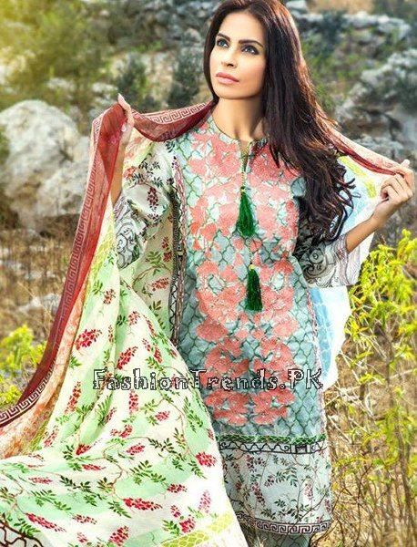 Pareesa Lawn Collection 2015 By Chen One (4)