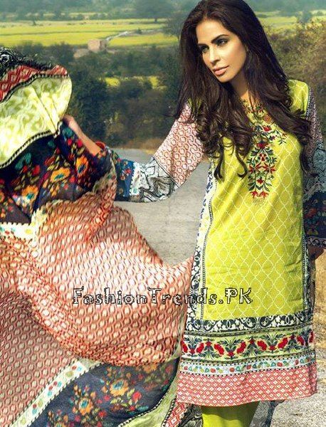 Pareesa Lawn Collection 2015 By Chen One (5)