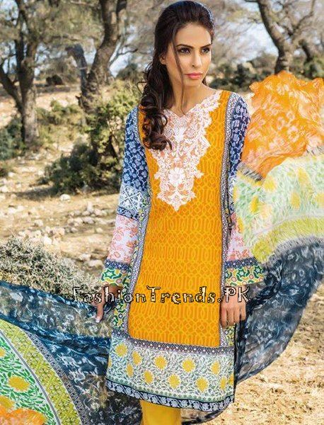 Pareesa Lawn Collection 2015 By Chen One (8)