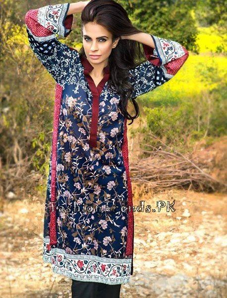 Pareesa Lawn Collection 2015 By Chen One (9)