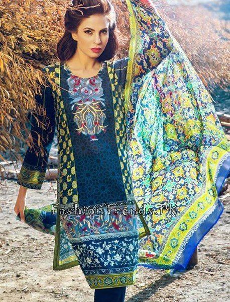 Pareesa Lawn Collection 2015 By Chen One (10)