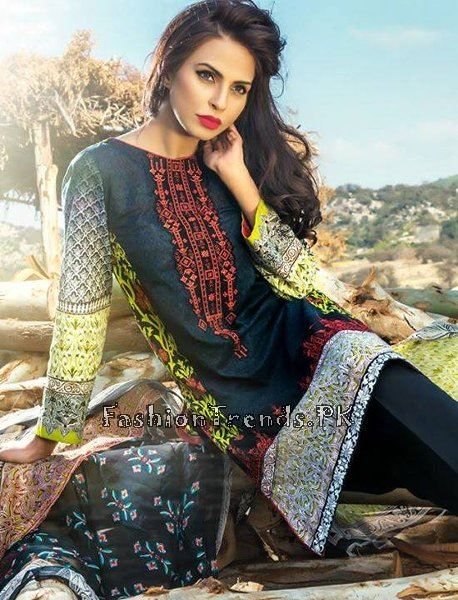 Pareesa Lawn Collection 2015 By Chen One (12)