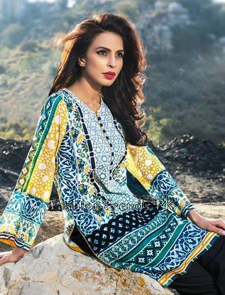 Pareesa Lawn Collection 2015 By Chen One (13)