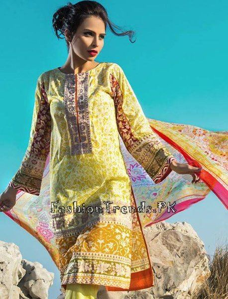 Pareesa Lawn Collection 2015 By Chen One (14)