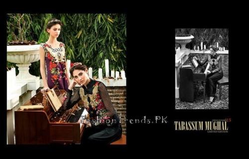 Tabassum Mughal Lawn Dresses 2015 (3)