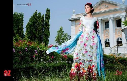 Tabassum Mughal Lawn Dresses 2015 (7)