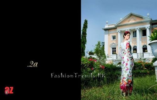 Tabassum Mughal Lawn Dresses 2015 (8)