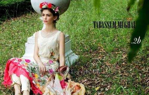 Tabassum Mughal Lawn Dresses 2015 (9)