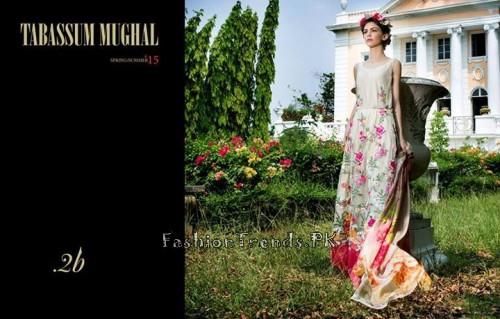 Tabassum Mughal Lawn Dresses 2015 (10)