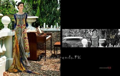 Tabassum Mughal Lawn Dresses 2015 (12)