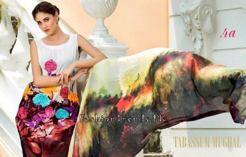 Tabassum Mughal Lawn Dresses 2015 (15)