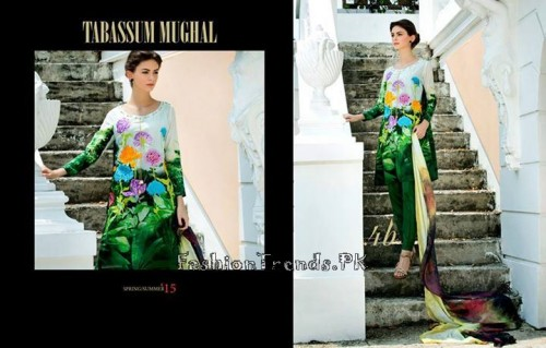 Tabassum Mughal Lawn Dresses 2015 (17)