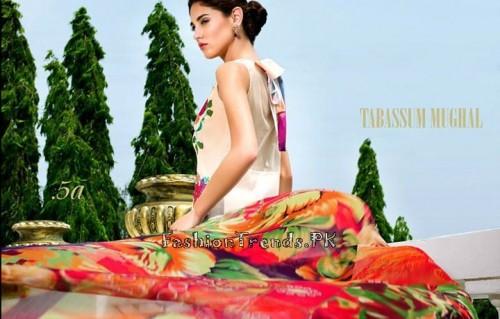 Tabassum Mughal Lawn Dresses 2015 (18)