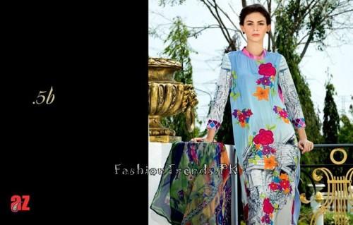 Tabassum Mughal Lawn Dresses 2015 (20)