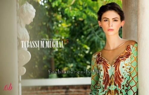 Tabassum Mughal Lawn Dresses 2015 (24)