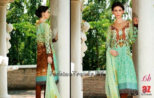 Tabassum Mughal Lawn Dresses 2015 (25)