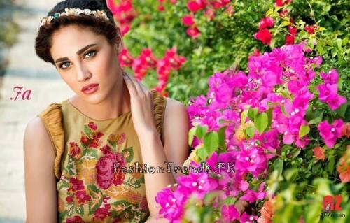 Tabassum Mughal Lawn Dresses 2015 (26)